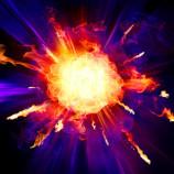 Feuerfotografie. Eine wunderschöne Flamme, die aussieht wie eine Blume.